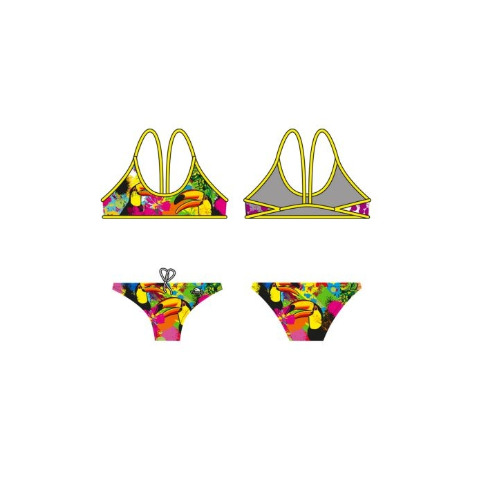 Mujer Tucan Colors