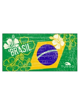 Telo Microfibra Brasil Vintage