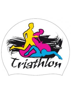 Cuffia triathlon fluor