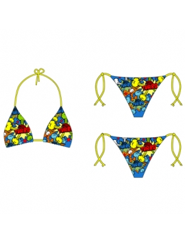 Bikini Triangolo Pop Turbo